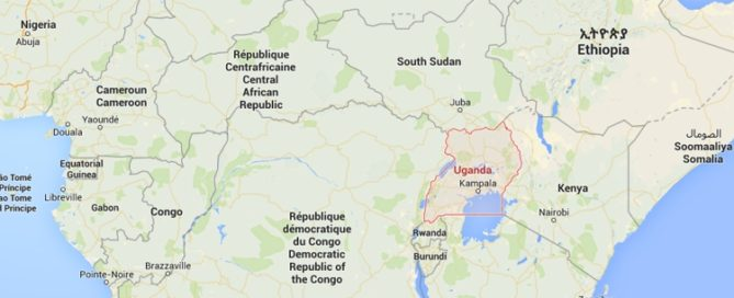 uganda-mapa